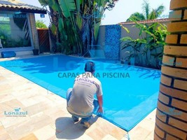 capa em tela para cobrir piscina