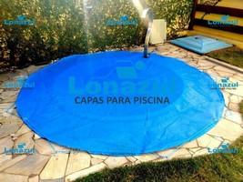 capa para piscina em tela