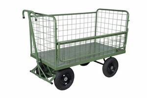 carrinho plataforma em tela