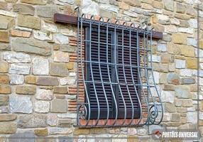 grade de janela ferro