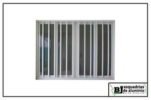 grades de alumínio para janelas proteção