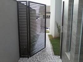 portões e grades de ferro
