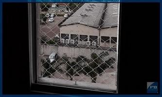 tela protetora de janela