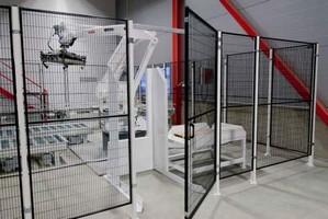 tela de proteção industrial